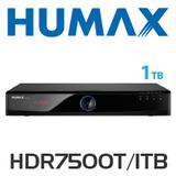 Humax HDR7500T Dual Tuner HD PVR (1TB)