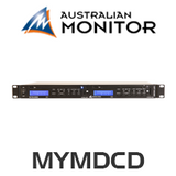Australian Monitor MYMDCD Dual CD Player
