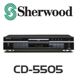Sherwood CD-5505 Single CD Player with USB Host