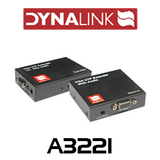 Dynalink VGA + Audio over cat5/6 balun kit (up to 300m)