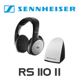 Sennheiser RS110-II Open Supraaural Wireless RF Headphone System