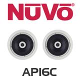 """NuVo AP16C 6.5"""" In-Ceiling Speakers (Pair)"""