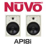 """NuVo AP18l 8"""" In-Wall Speakers (Pair)"""