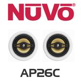 """NuVo AP26C 6.5"""" In-Ceiling Speaker (Pair)"""