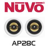 """NuVo AP28C 8"""" In-Ceiling Speakers (Pair)"""