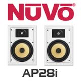 """NuVo AP28l 8"""" In-Wall Speakers (Pair)"""