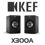 KEF X300A Digital Hi-Fi Speakers (Pair)