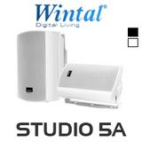 """Wintal 5"""" Active Indoor/Outdoor Speakers (Pair)"""