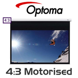 Optoma Motorised Projection Screens (4:3)
