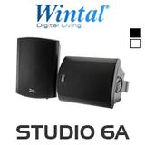 """Wintal 6.5"""" Active Indoor/Outdoor Speaker (Pair)"""