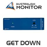 Australian Monitor GETDOWN XLR to RCA Stereo Converter