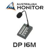 Australian Monitor DP16M DigiPage 16M Paging Station