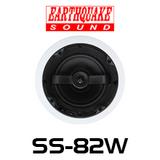 "EarthQuake SS-82W 8"" Angled In-Ceiling Speaker (Each)"