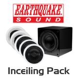 EarthQuake 5.1 Channel In-ceiling Speaker Pack