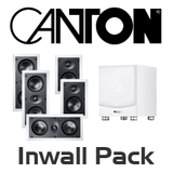 Canton 5.1 Channel In-Wall Speaker Pack