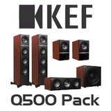 KEF Q500 5.1 Channel Speaker Pack