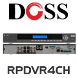 Doss CCTV 4/8/16 Channel DVR
