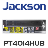 Jackson 4 Way Powerboard with 4 USB Charging Outputs