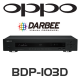 Oppo BDP-103 Blu-ray player - Darbee Edition