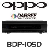 Oppo BDP-105 Blu-ray player - Darbee Edition