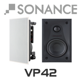 "Sonance VP42 4"" In-Wall Rectangular Speakers (Pair)"
