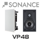 "Sonance VP48 4"" In-Wall Rectangular Speakers (Pair)"