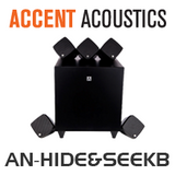 Accent Acoustics Hide & Seek 5.1 High Fidelity Speaker Package