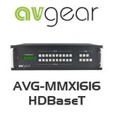 AVGear AVG-MMX1616 HDBaseT (16x16 HDMI Matrix Switchers with 16 HDBaseT Outputs)