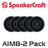 "SpeakerCraft AIM8 Two 8"" In-Ceiling 5 Speaker Package"