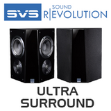 SVS Ultra Surround 2-Way 4 Driver Surround Speaker (Pair)