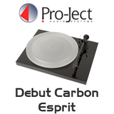 Pro-Ject Debut Carbon DC Esprit Turntable Inc. Ortofon 2M Red
