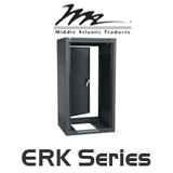 "Middle Atlantic ERK Series 25"" Deep Rack System with 18RU / 21RU / 35RU / 44RU"