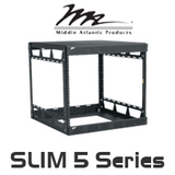 "Middle Atlantic Slim 5 Series 20"" Deep Knock-Down Rack with 8RU / 14RU / 21RU, 29RU / 37RU / 43RU"