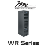 "Middle Atlantic WR Series 32"" Deep Roll-Out Rotating System Rack with 24RU / 37RU / 44RU"