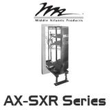 "Middle Atlantic AX-SXR 20"" Deep In-Wall Slide Out & Rotate Rack with 30RU / 35RU / 40RU / 43RU"