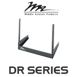 "Middle Atlantic DR Series 11.5"" Deep Desktop Rail Rack with 8RU / 12RU"