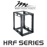 "Middle Atlantic HRF Series 14"" Deep Half Rack System with 8RU / 12RU"