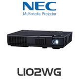 NEC L102WG LED 1000 Lumen WXGA Micro Portable Projector