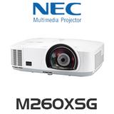 NEC M260XSG LCD 2600 Lumen XGA Short Throw Projector