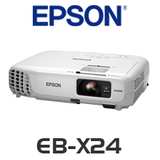 Epson EB-X24 LCD 3500 Lumens XGA Corporate Portable Multimedia Projector