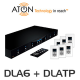 ATON 6 x DLATP + DLA6 Room Remote Controllable Speaker Selector