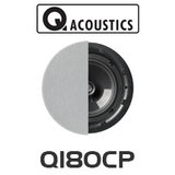 "Q Acoustics QI80CP 8"" Performance In-Ceiling Stereo Speaker (Each)"