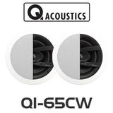 "Q Acoustics QI65CW 6.5"" Weatherproof In-Ceiling Speaker (Pair)"
