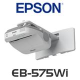 Epson EB-575Wi LCD 3300 Lumens WXGA Interactive Ultra Short Throw Projector