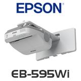 Epson EB-595Wi LCD 3300 Lumens WXGA Interactive Ultra Short Throw Projector
