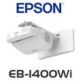 Epson MeetingMate EB-1400Wi LCD 2600 Lumens WXGA Ultra Short Throw Projector