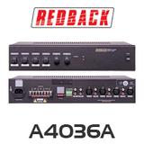 Redback A4036A 40W 4 Input 100V PA Amplifier