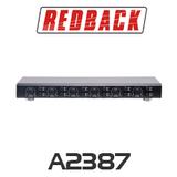 Redback 6 Zone 100W Speaker Switcher with Volume Control