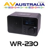 AVA WR-230 Wi-Fi Internet Radio Alarm Clock