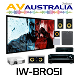 Apart In-Wall with Onkyo TX-NR646, Epson TW5300 Home Theatre Package